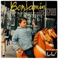 EP 45 TOURS BENJAMIN ALAN GATE LE ROI DES GAMINS FESTIVAL FX 45 1291 En 1962 - Discos De Vinilo