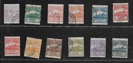 20825) SAN MARINO-Cifra O Veduta Di San Marino - 1 Aprile 1903-SERIE COMPLETA USATA-1 MNH** - Saint-Marin