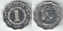 Belize - 1 Cent 2005 UNC Bank Bag - Belize