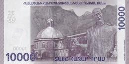 ARMENIA P. NEW 10000 D 2018 UNC - Armenia