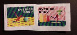 Sweden Svezia 2020 Sport 2 Stamps Used - Gebruikt