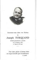 49 - CHOLET - Faire Part De Décès De M. Joseph Turquand - 1971 - Obituary Notices