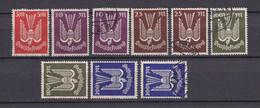 Deutsches Reich - 1923 - Michel Nr. 263/267 - Postfrisch/Gestempelt - Neufs