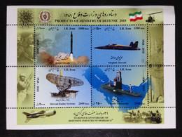 Iran, Uncirculated Souvenir Sheet, « AVIATION », 2010 - Iran