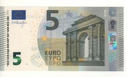 "5 EURO  ""Spain""  DRAGHI    V 002 D4   VA3080915777     /  FDS - UNC - EURO"