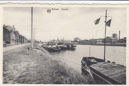 ZELZATE Le Port HAVEN Péniches Scheepvaart - - Zelzate