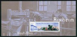 """SOUVENIR PHILATELIQUE** De 2013 """"RIXHEIM - Haut-Rhin"""" Avec Son Encart Illustré (sous Blister) - Souvenir Blocks & Sheetlets"""