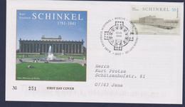 Germany FDC 2006 Schinkel - Posted Berlin (G116-55) - [7] Repubblica Federale
