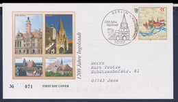 Germany FDC 2006 1200 Jahre Ingolstadt - Posted Berlin (G116-55) - [7] Repubblica Federale