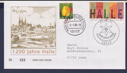 Germany FDC 2006 1200 Jahre Halle - Posted Berlin (G116-55) - [7] Repubblica Federale