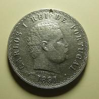 Portugal 500 Reis 1891 Silver - Portugal