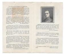 Avis De Décès - Bernard De FORCEVILLE - 1894 / 1915 - Chantreuil Cheverny (41) - Pas Carte Postale - - Cheverny