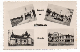 33 - Souvenir De LÉOGNAN - Multi-vues - 1956 (Q66) - Other Municipalities