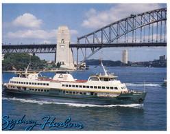 (P 28) Australia - NSW - Sydney Manly Queenscliff Ferry - Ferries