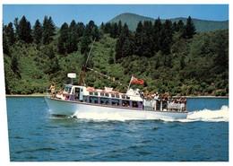 (P 28) New Zealand - Viking Tourist Launch - Picton - Ferries