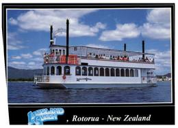 (P 28) New Zealand - Kakeland Queen - Rotorua (Paddle Steamer) - Ferries