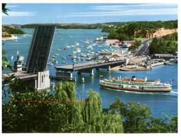 (P 28) Australia - NSW - Sydney Spir Bridge And Ferry (Mosman To Seaforth) - Ferries