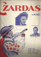 """""""Czardas"""" - Yvette Horner - Tony Murena -Musique Vittorio Monti - Transcription Pour L'accordéon Paul Reich - Music & Instruments"""