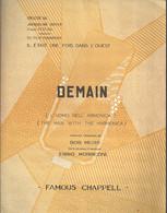 """""""Demain""""  L'uomo Nell'armonica - Du Film """"il était Une Fois Dans L'Ouest"""" - Texte Original Et Musique Ennio Morricone - Music & Instruments"""