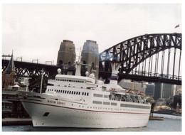(P 28 A) This Is A Photo (not A Postcard) - Cruise Ship Maxim Gorkiy - Fotos