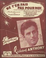 """Ne T'en Fais Pas Pour Moi"" (When The Lovelight Starts Shining Thru My Eyes) Richard Anthony - Music & Instruments"