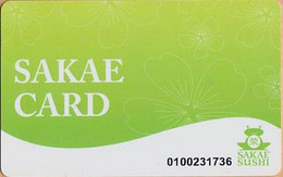 Restaurant Singapore Gift Card (plastic) - Gift Cards