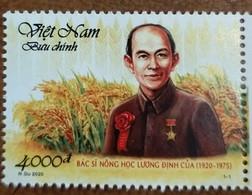 Vietnam Viet Nam MNH Perf Stamp 2020 : 100th Birth Anniversary Of Luong Dinh Cua, Agronomist (Ms1127) - Vietnam