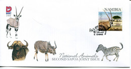 Namibia Mi# 1262 Used On FDC - Fauna - Namibia (1990- ...)