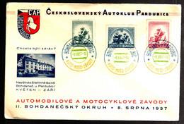 37423 - Cad  3 Couleurs - Czechoslovakia