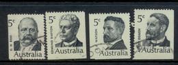 Australia 1969 Famous Austrlaians Prime Ministers FU - 1966-79 Elizabeth II