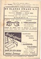 Pub Reclame - Ciné Cinema Bioscoop Flora - Heist Op Den Berg - Vedette Star Burt Lancaster - Cinema Advertisement