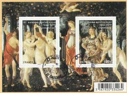 FRANCE 2010 BLOC OBLITERE SANDRO BOTTICELLI -  F4518 -  F 4518 - - Sheetlets