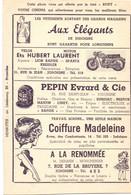 Pub Reclame - Ciné Cinema Bioscoop - Roxy - Jodoigne - Vedette Star John Lund - Cinema Advertisement