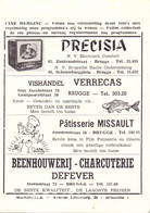 Pub Reclame - Ciné Cinema Bioscoop - Memlinc - Brugge  - Vedette Star Dorothy Dandridge - Cinema Advertisement