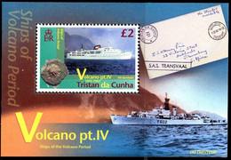 Tristan Da Cunha 1064/67 Et Bf 69 Volcan Série IV - Volcans