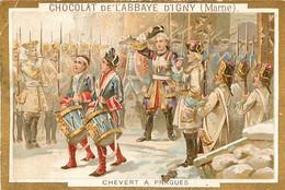 CHROMO CHOCOLAT DE L'ABBAYE D'IGNY  CHEVERT A PRAGUES - Schokolade