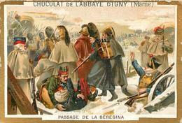 CHROMO CHOCOLAT DE L'ABBAYE D'IGNY  PASSAGE DE LA BERISINA - Schokolade