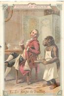 CHROMO CHOCOLAT POULAIN LE SINGE DE BUFFON - Poulain