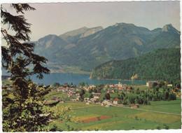 Strobl Am Wolfgangsee, Salzkammergut Mit Schafberg, Vormauer Und Sommeraustein - Österreich