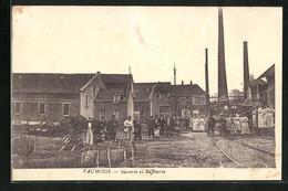 CPA Vaumoise, Sucrerie Et Raffinerie - Vaumoise