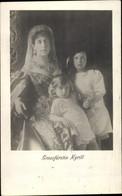 CPA Großfürstin Kirill Mit Princesse Marie Und Kyra Von Russland - Familles Royales