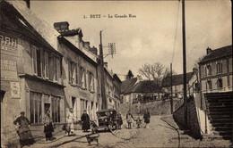 CPA Betz Oise, La Grande Rue - Frankreich