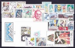 1995. Slovakia. Full Years. MNH - Slovakia