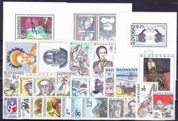 1996. Slovakia. Full Years. MNH - Slovakia