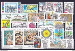 1998. Slovakia. Full Years. MNH - Slovakia