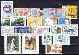 2009. Slovakia. Full Years. MNH - Slovakia