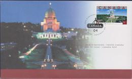 Canada FDC 2004 Saint Josephs Oratory Of Mount Royal (LD6) - Omslagen Van De Eerste Dagen (FDC)