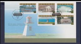Canada FDC 2003 The National Heritage (LD6) - Omslagen Van De Eerste Dagen (FDC)
