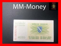 BOSNIA 5.000  5000 Dinara  25.1.1993  P. 16 UNC - Bosnia Erzegovina