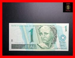 BRAZIL 1 Real  1994  P. 243 E  Wmk: Head Of Republic  UNC - Brasil